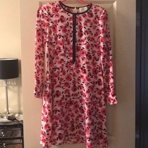 kate spade rose print dress
